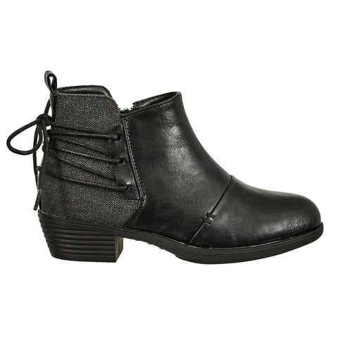 Zury-10 Black Girls Bootie