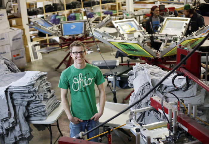 Millennials embrace designing, selling T-shirts and apparel - Columbus Dispatch Sunday March 15, 2015