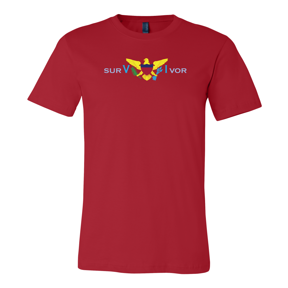 surVIvor Eagle Short-Sleeve Unisex T-Shirt