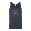 surVIvor Virgin Islands Unisex Tank Top
