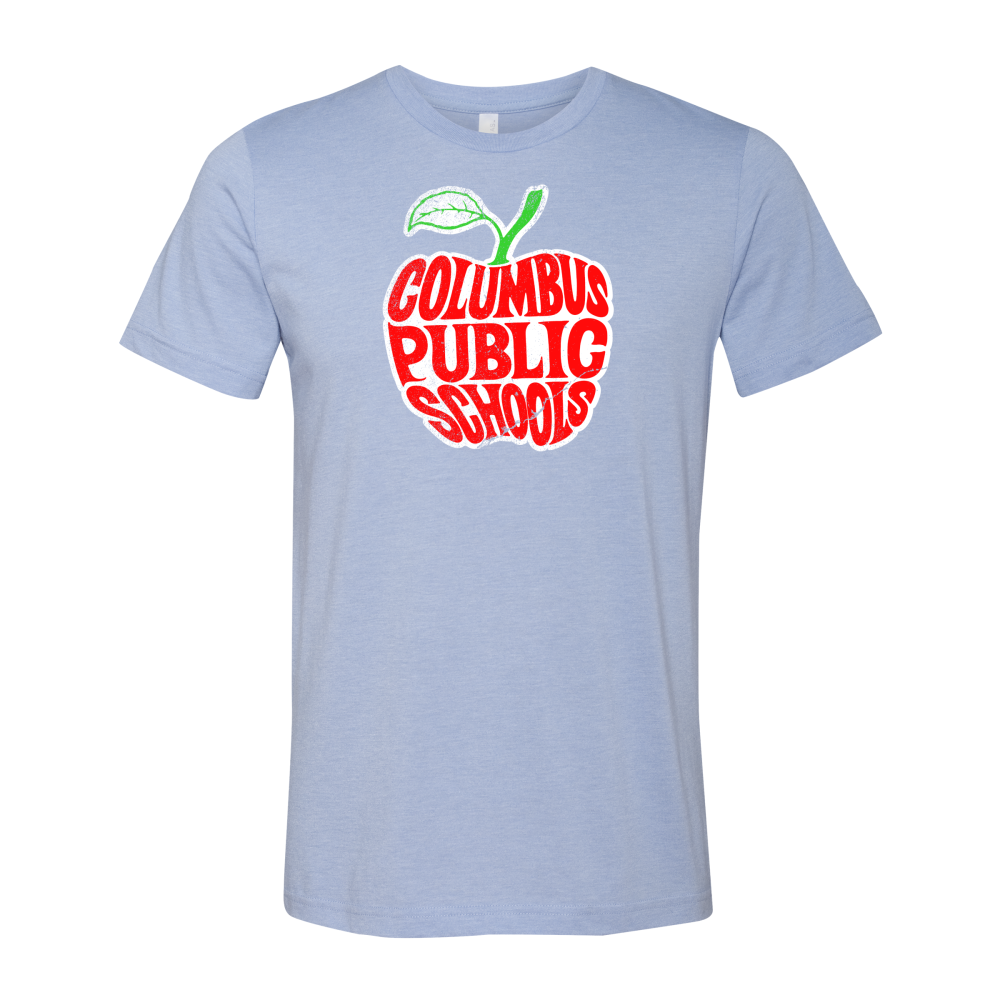 Columbus Public Schools Apple® T-Shirt