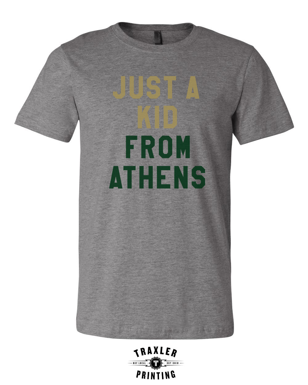 Just A Kid From Athens - Athens Bulldog Colorway