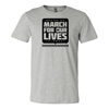 Official Ohio March for our Lives Short-Sleeve T-Shirt Heather Grey