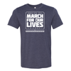 Official Ohio March for our Lives Short-Sleeve T-Shirt Heather Blue