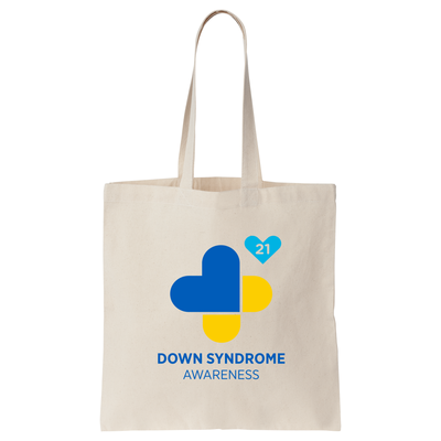 Down Syndrome Awareness Official Canvas Tote