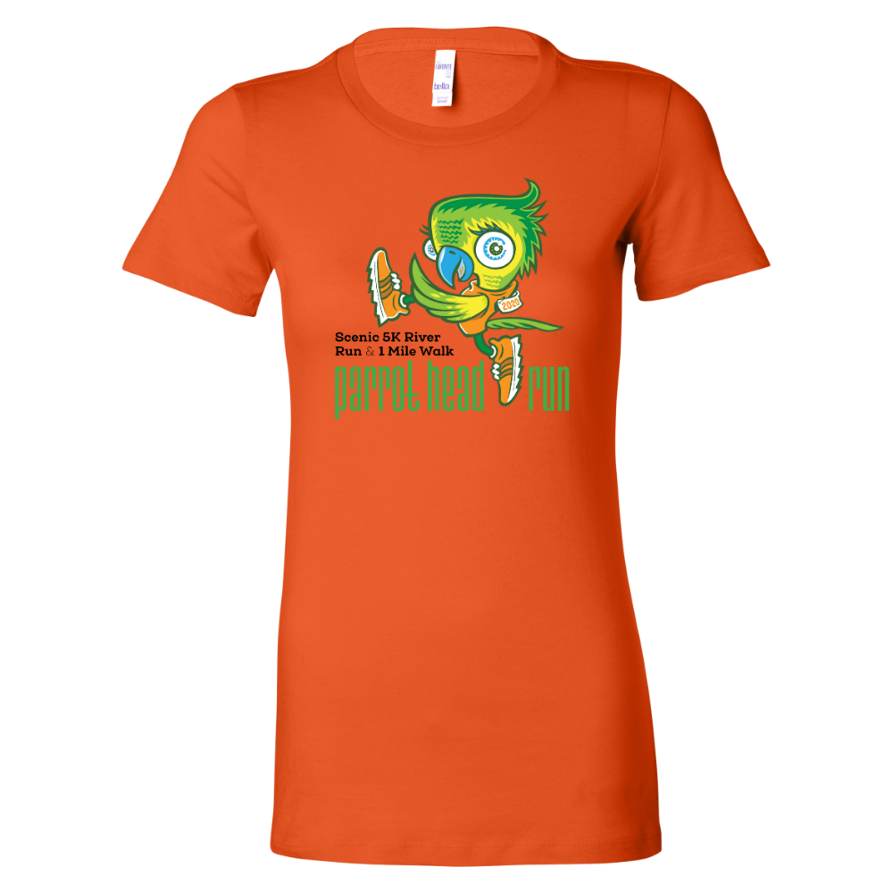Parrot Head Run 2020 Short Sleeve Women's T-Shirt