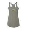 surVIvor Eagle US Virgin Islands Women's Racerback Tank