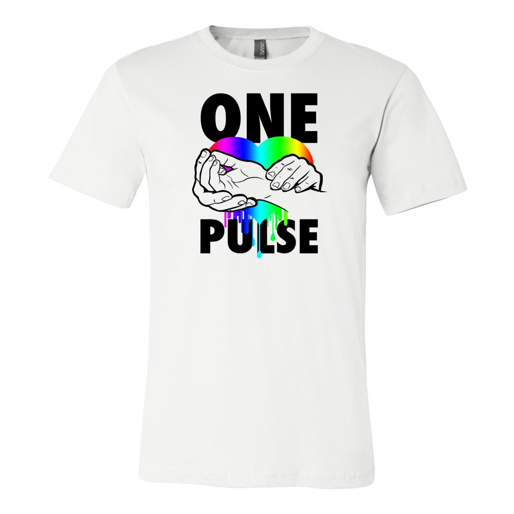 Bleeding Heart One Pulse Support T-Shirt