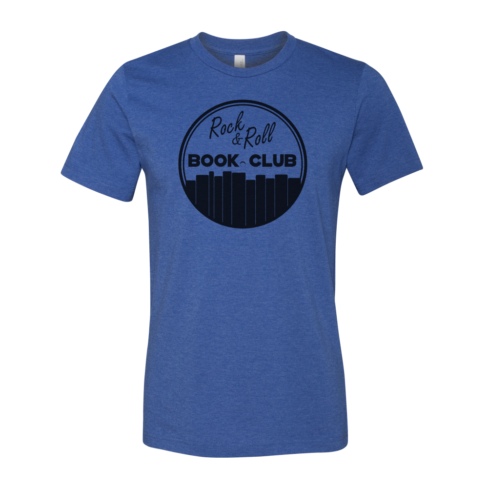 Rock And Roll Book Club Circle Logo T-Shirt