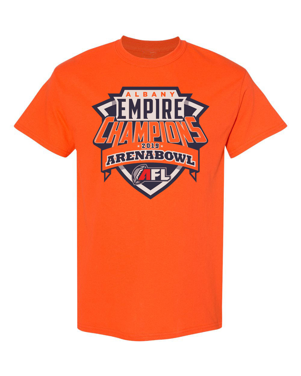 AFL Arena Bowl 2019 Champions Tee Albany Empire