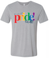 Official Stonewall 2018 Pride For All Athletic Grey Crew Neck Tee