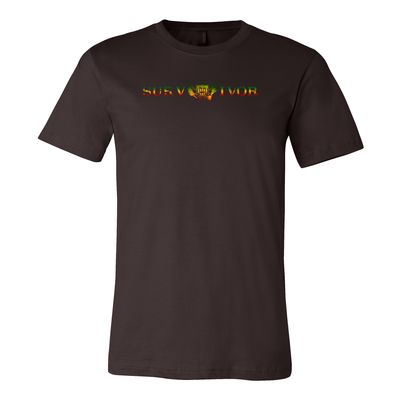 surVIvor Vintage Short-Sleeve Unisex T-Shirt