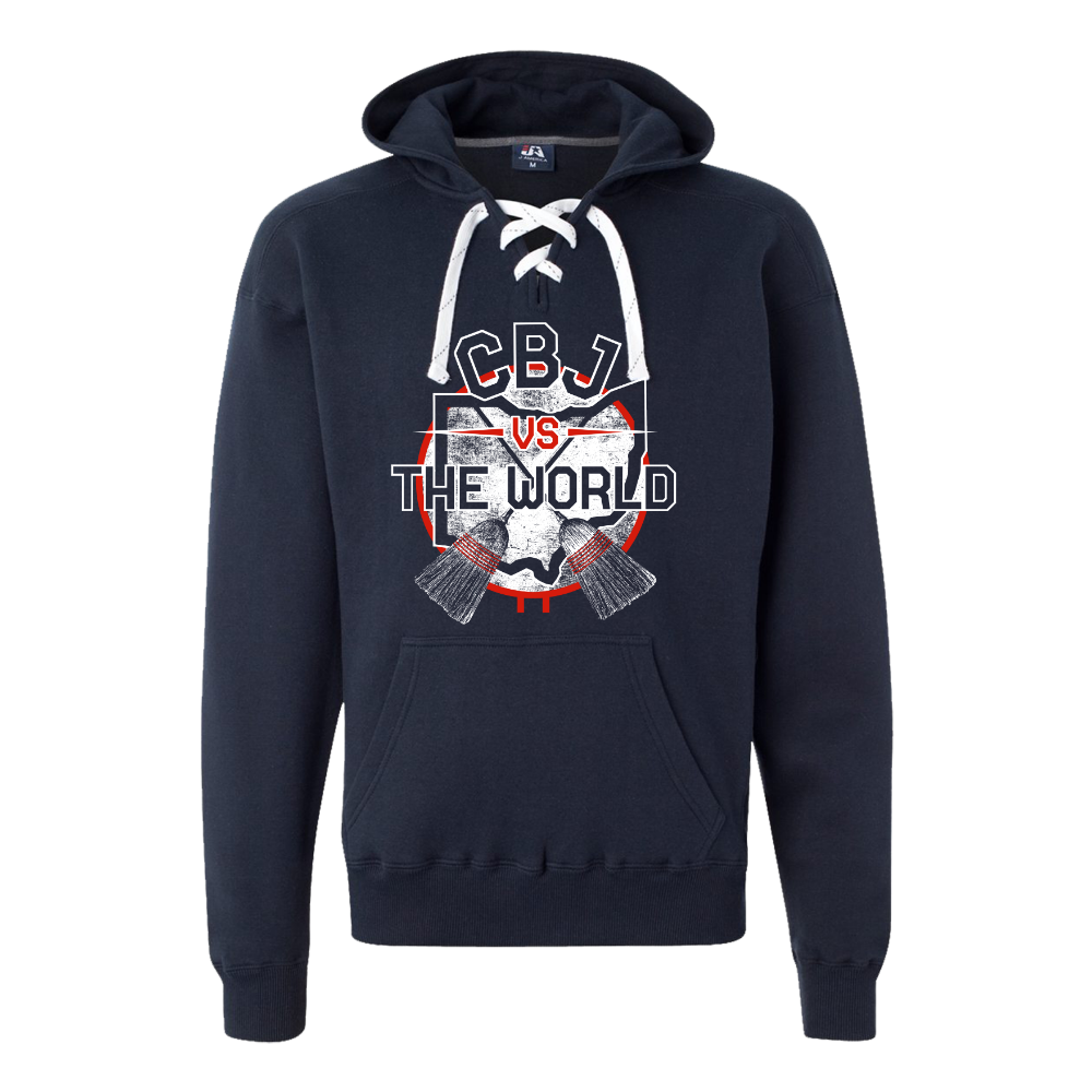 CBJ Vs. The World Sport Lace Hooded Sweatshirt