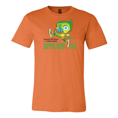 Parrot Head Run 2018 Short Sleeve T-Shirt Colors