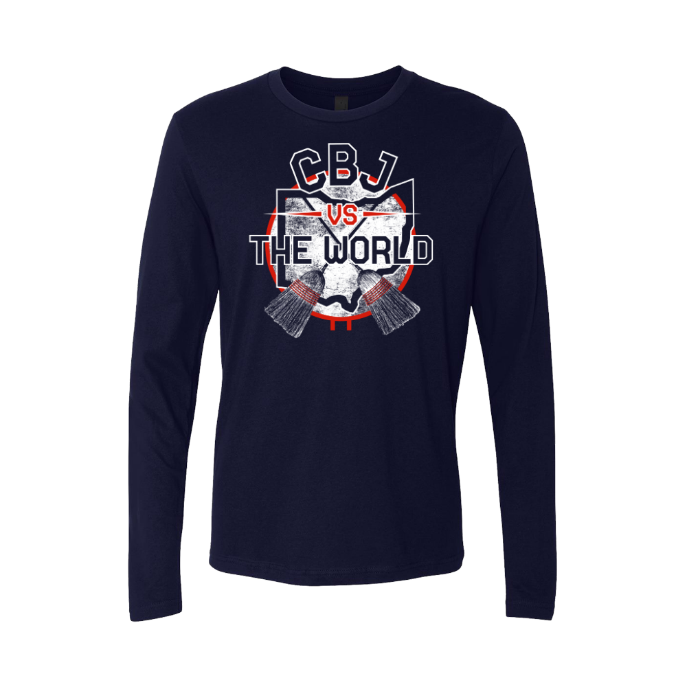 CBJ Vs. The World Fitted Long Sleeve Crew