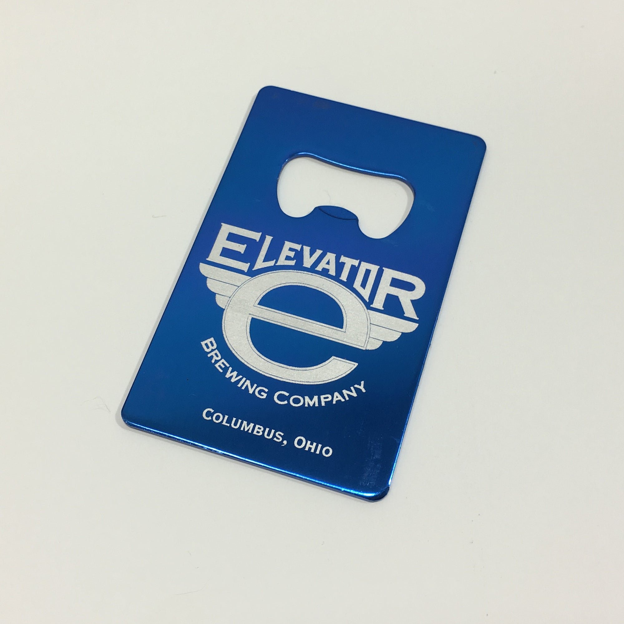 Elevator Brewing Credit Card Bottle Opener