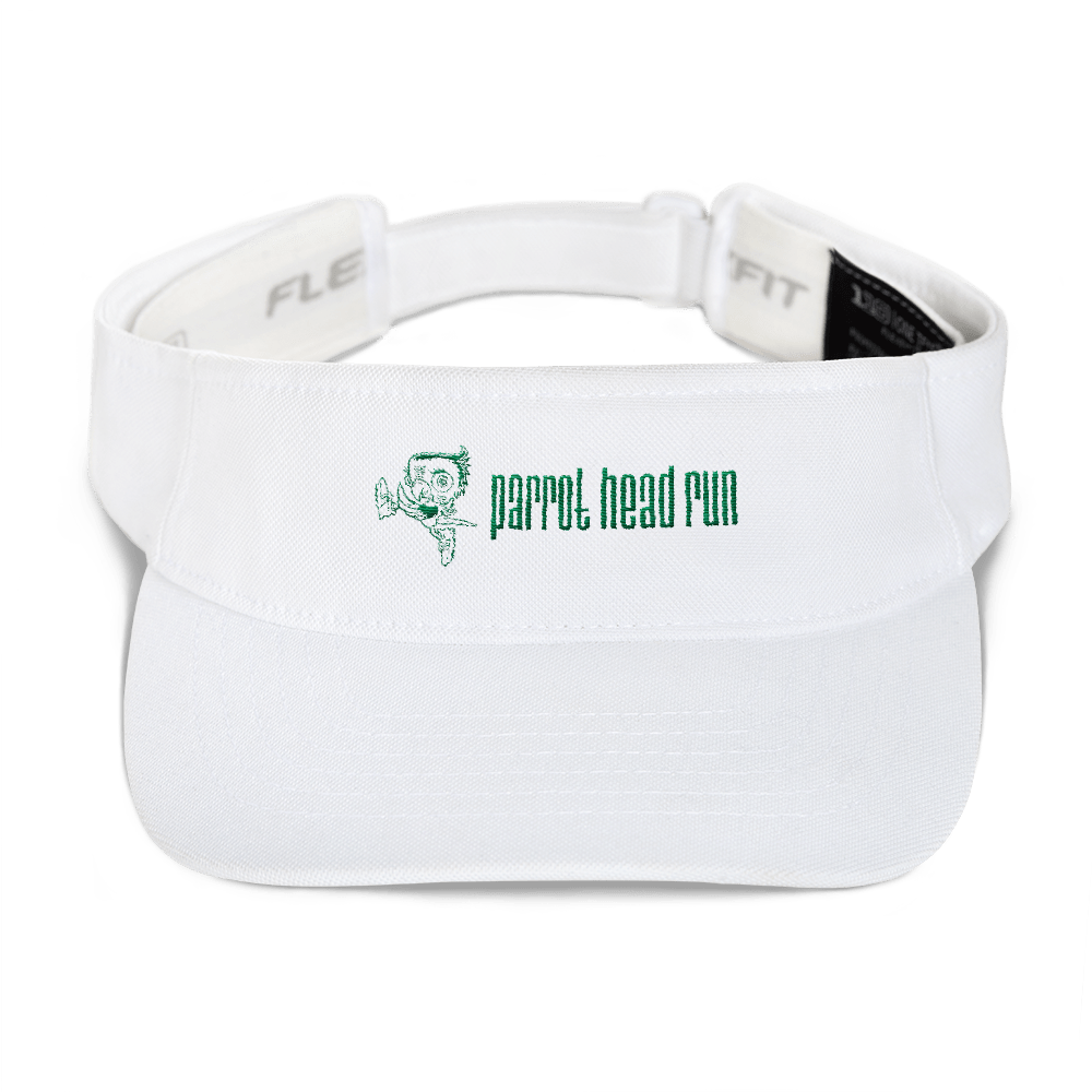 Parrot Head Run Adjustable Visor