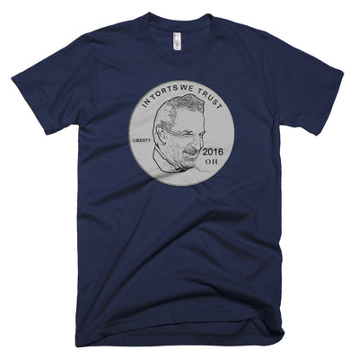 In Torts We Trust T-Shirt Limited Edition Charity T-Shirt