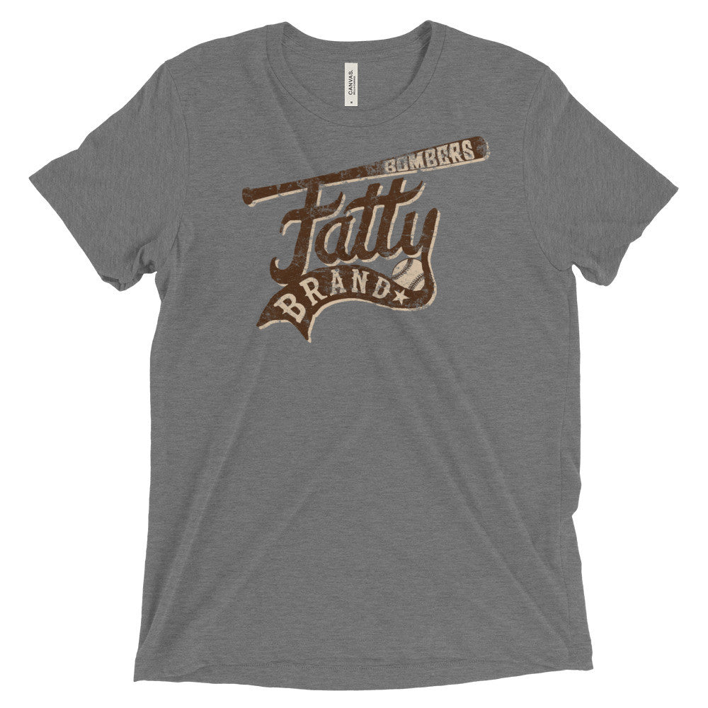 Fatty Brand™ Bombers Baseball T-Shirt