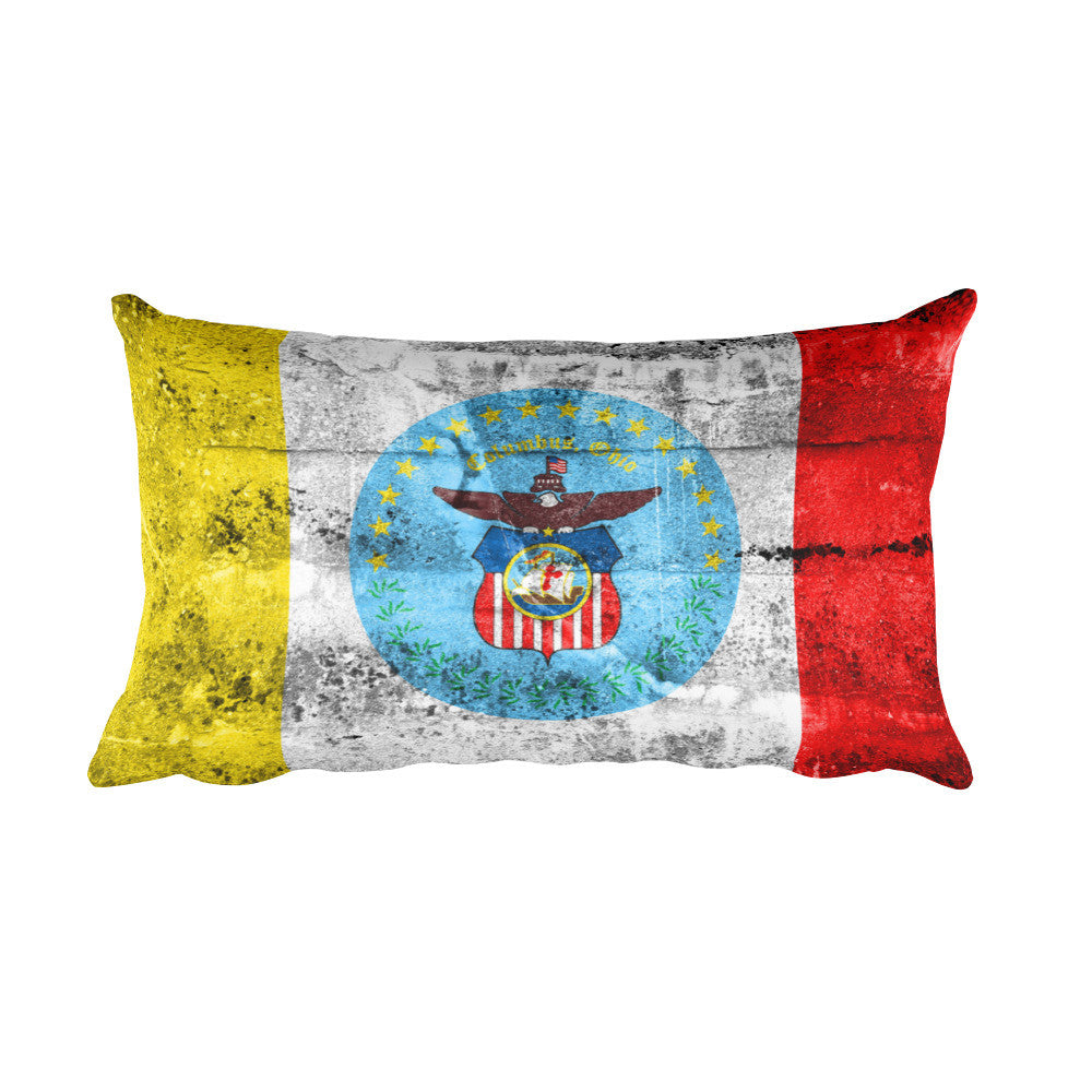 Columbus Ohio Flag Pillow