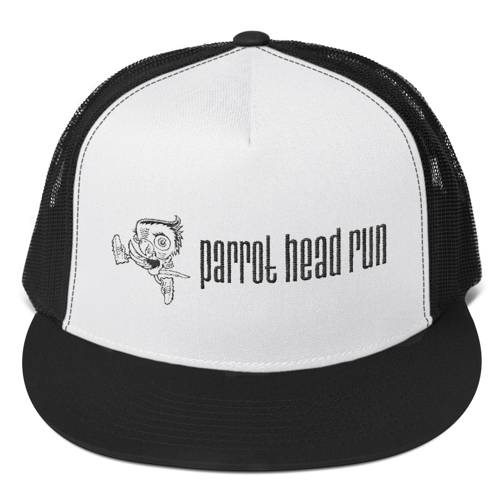 Parrot Head Run Trucker Cap
