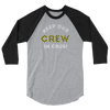 Keep Our Crew In CBUS! 3/4 sleeve raglan shirt