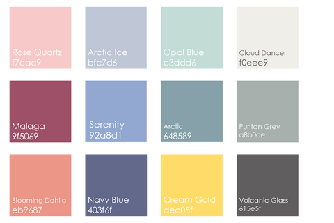 Color Palette Pantone