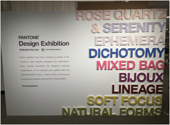Pantone Atlanta Exhibition