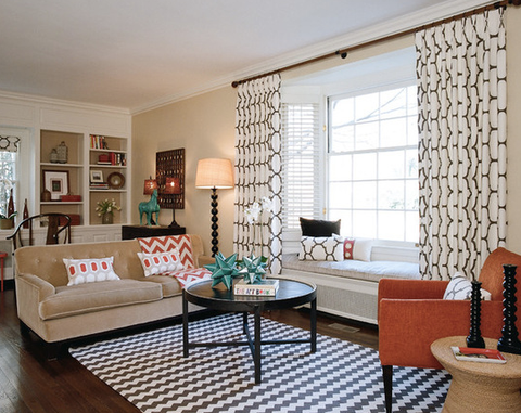 Living Room Decor Curtain Height What To Choose