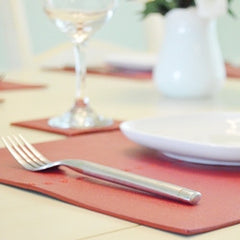 swift decor leather placemats