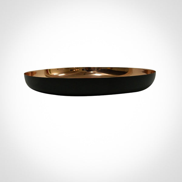 Round Copper Tray by Swift Decor