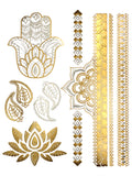 boho-temporary-metallic-tattoos-gold-henna-tattoos-temp-tats-maya