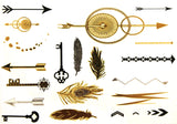 Jewelry-temporary-tattoos-metallic-tattoos-body-art-Addison