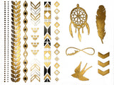 boho-tattoos-metallic-temporary-tattoos-Addison