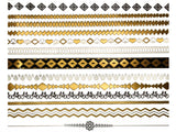 Jewelry-inspired-tattoos-metallic-tattoos-temp-tats-arm-bands-Addison