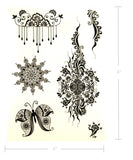 Black-Temporary-Tattoos-fake-henna-boho-tats-giselle