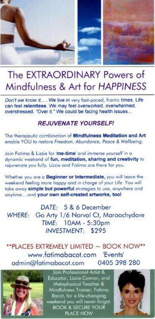 Power of Mindfulness and Art for Happiness