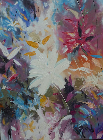 Floral Forest - Canvas Art Online Australia from Go Arty