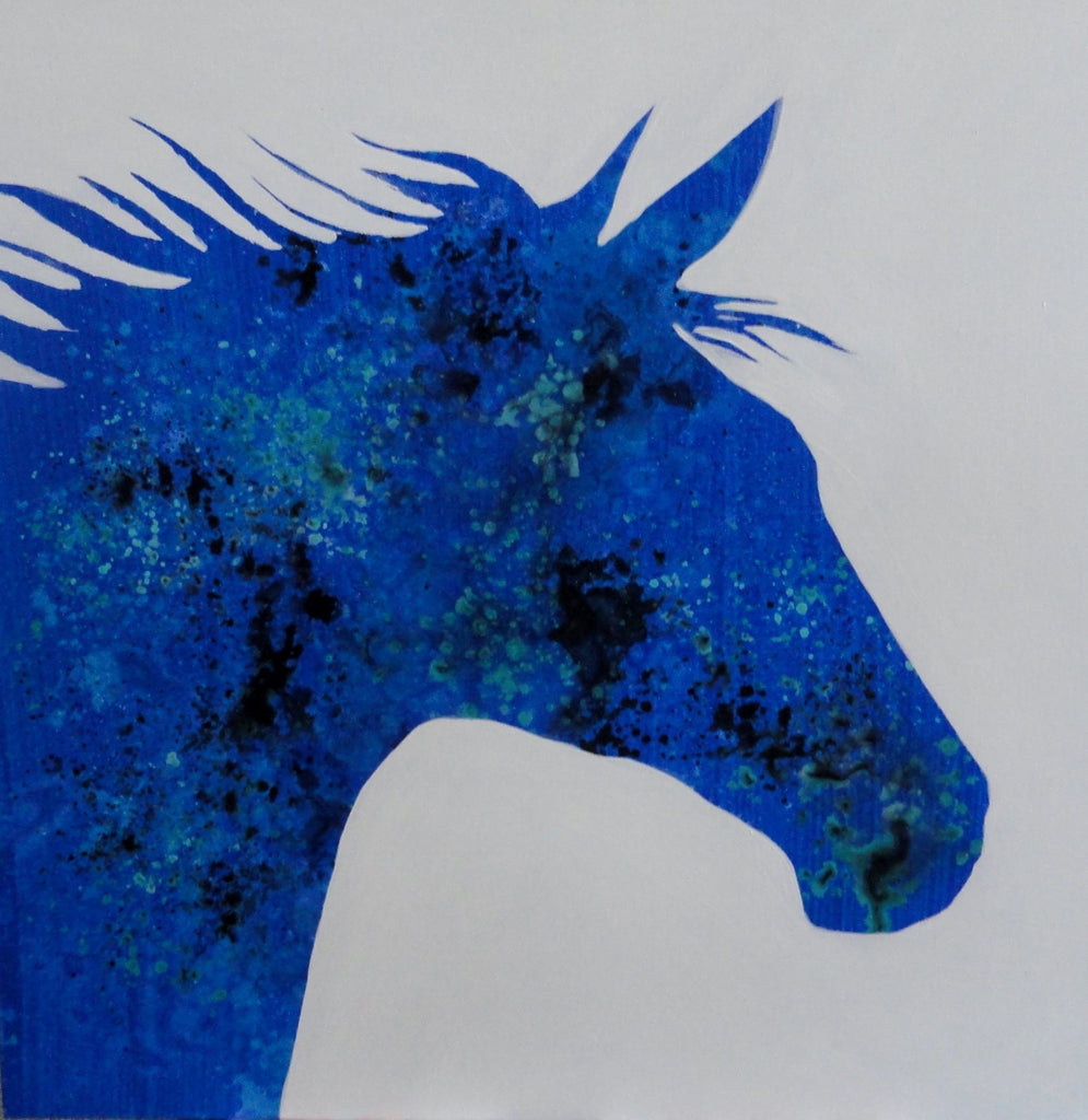 Le Cheval Silhouette - Canvas Art Online Australia from Go Arty