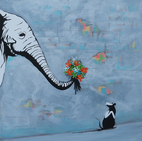 Peace Offering - Canvas Art Online Australia from Go Arty