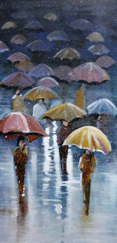 Raindrops - Canvas Art Online Australia from Go Arty