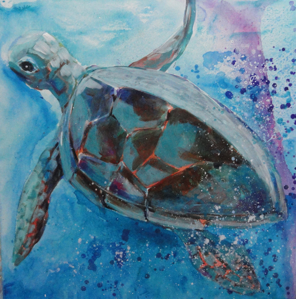 Turtle Heaven - Canvas Art Online Australia from Go Arty