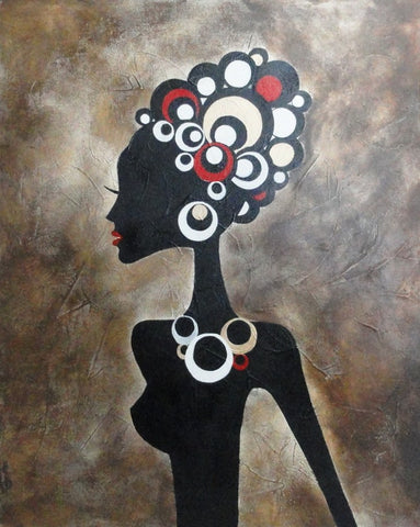 African Beauty - Canvas Art Online Australia from Go Arty