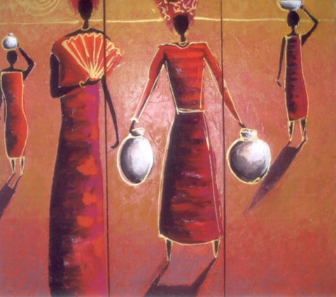 African Women - Canvas Art Online Australia from Go Arty