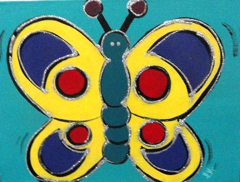 Beautiful Butterfly - Canvas Art Online Australia from Go Arty
