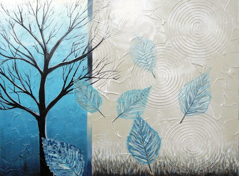 Blue Autumn - Canvas Art Online Australia from Go Arty