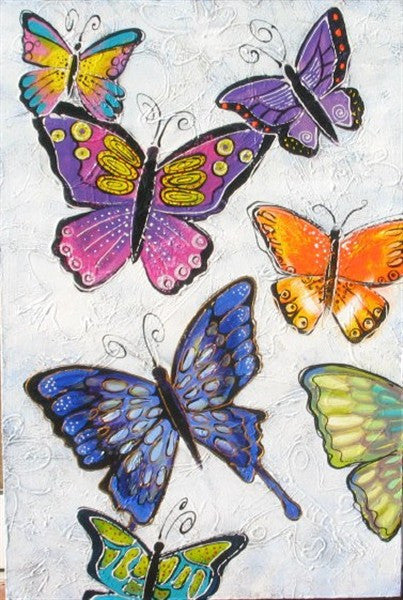 Butterflies - Canvas Art Online Australia from Go Arty