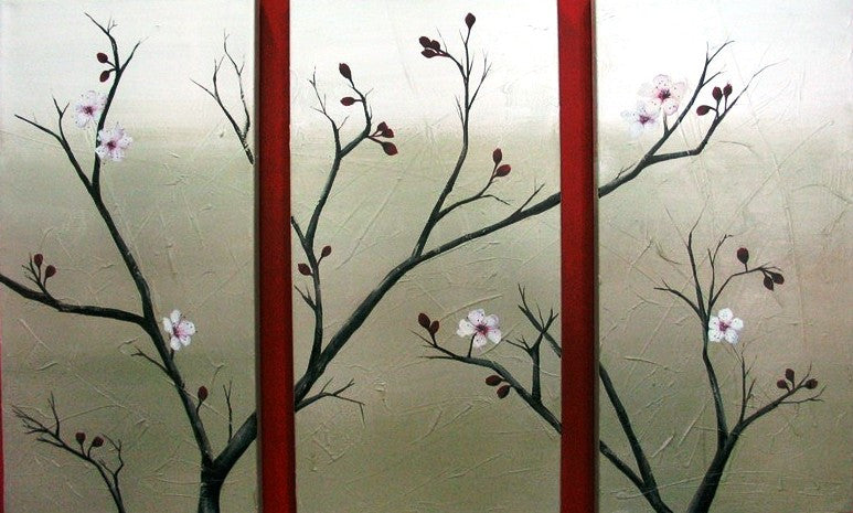 Cherry Blossoms Simple - Canvas Art Online Australia from Go Arty