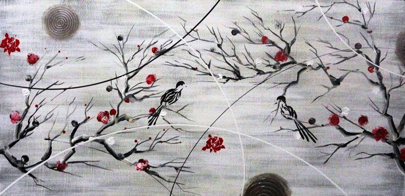 Cherry Blossoms - Canvas Art Online Australia from Go Arty