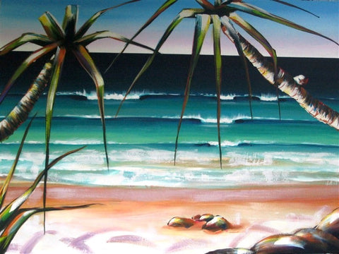 Coolum Beach - Canvas Art Online Australia from Go Arty